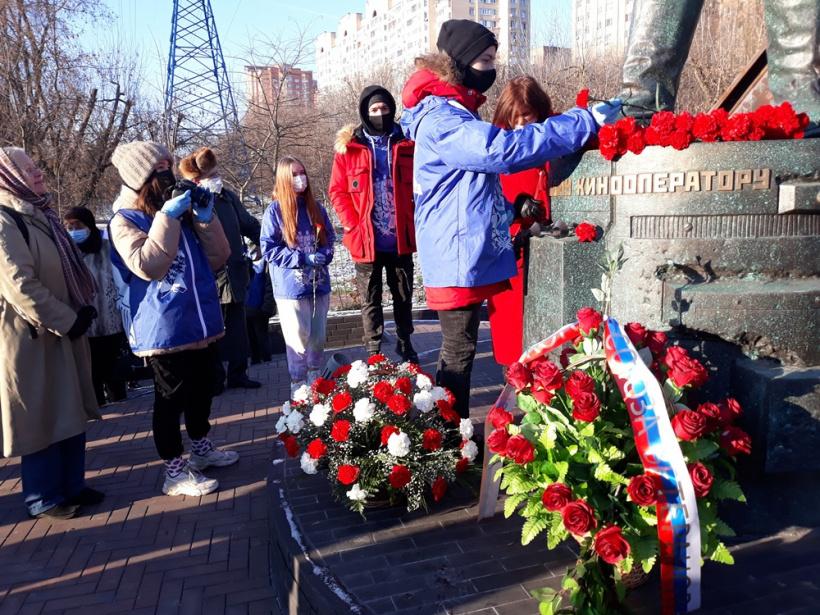 В Красногорске отдали дань подвигу защитников столицы и фронтовых кинооператоров