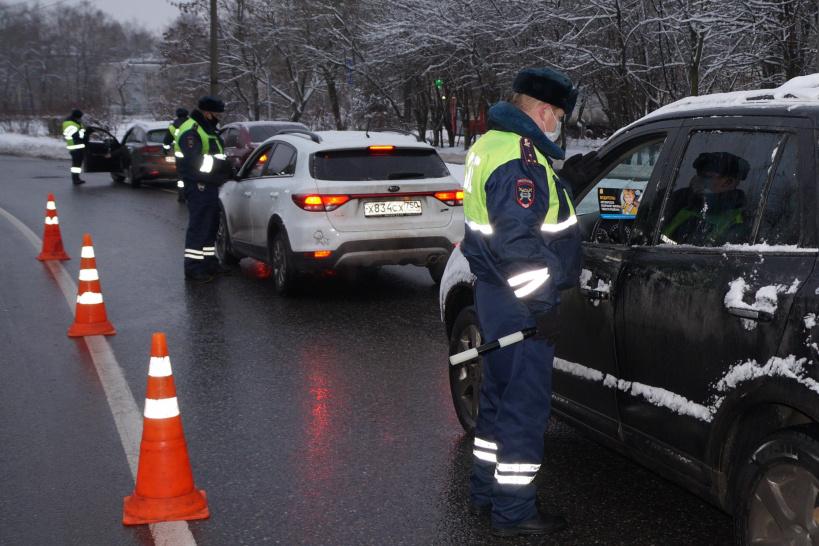 На территории Красногорска прошло профилактическое мероприятие «Перевозка пассажиров»