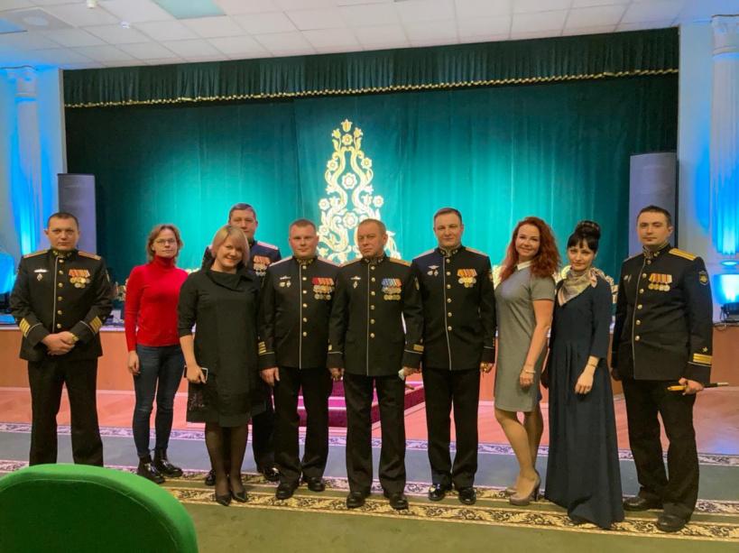 Красногорская делегация посетила  Североморск