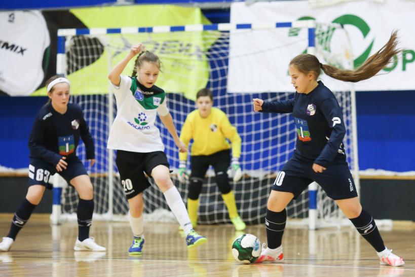 Красногорские футболистки стали четвёртыми на Первенстве России по мини-футболу